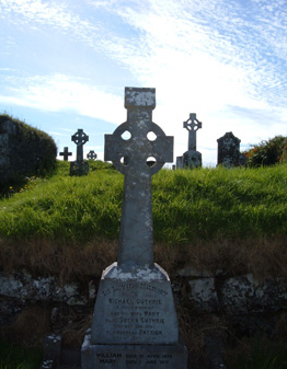 Slieve Elva High Cross